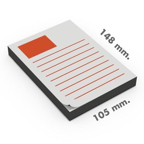 Blocs tamaño DIN A6 (105x148 mm.)