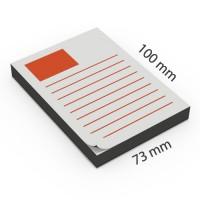 Notas adhesivas personalizadas 73 x 100 mm