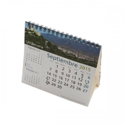 Calendarios sobremesa mensual cuadrado