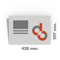 500 Carteles tamaño DIN A3 entrega urgente
