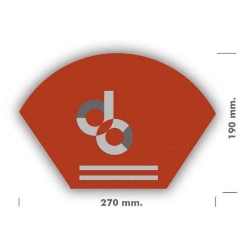 Abanicos publicitarios papel 270 mm