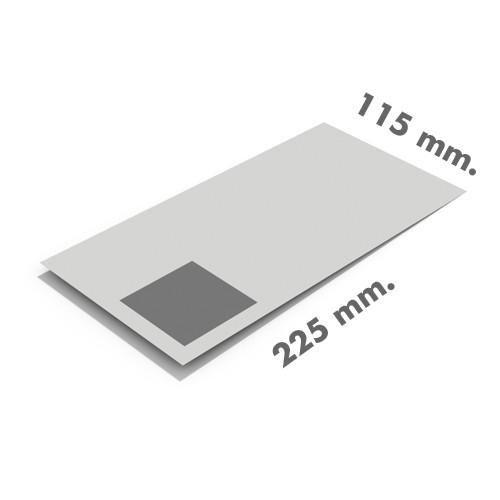 Sobres 115x225 sin ventana