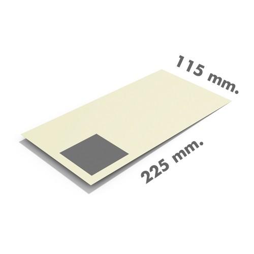 Sobres papel reciclado 115x225 sin ventana