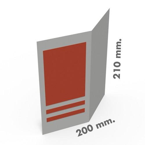 Folletos 200 x 210 mm.