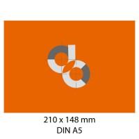 Adhesivos de papel DIN A5 - 148 x 210 mm