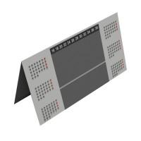 Calendarios PVC sobremesa triángulo