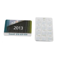 Calendarios de bolsillo con su diseño