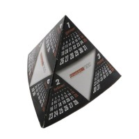 Calendarios de sobremesa pirámide de base triangular