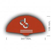 Abanicos personalizados 307 mm