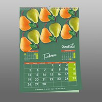 Calendario de pared wireo