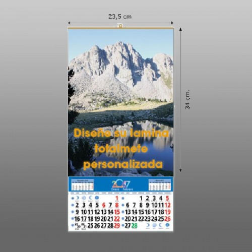 Calendarios de pared 23,5 lamina propia