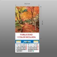 Calendarios lámina 23,5 lamina preimpresa