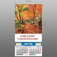 Calendarios lámina 33,5 lamina preimpresa
